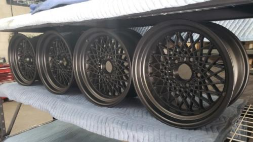 17 inch Mesh Wheels
