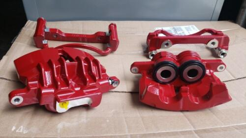 Brake Calipers - Benton Red
