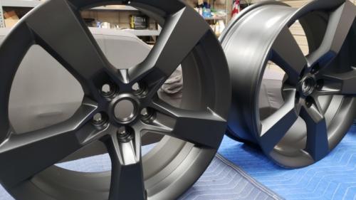 Camaro Wheels, Matte Black (2)