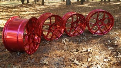 Corvette Wheels - LolliPop Red