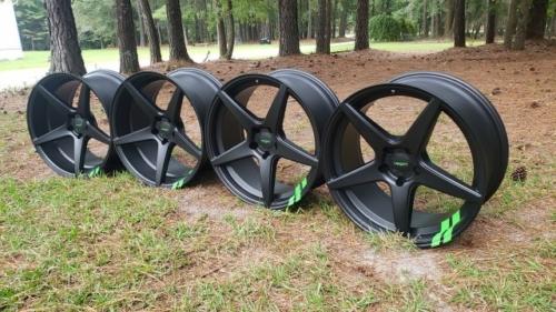 Custom Dodge Charger Wheels