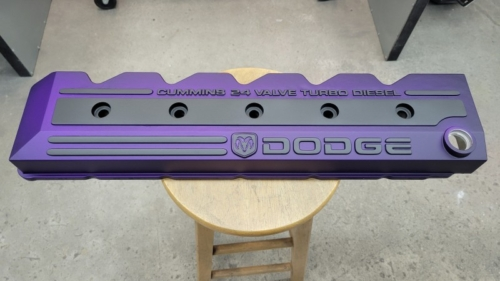 Dodge Valve Cover - Purple