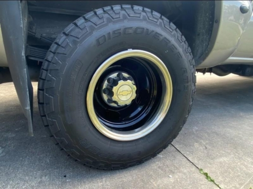 Dually Wheels - Gloss Black