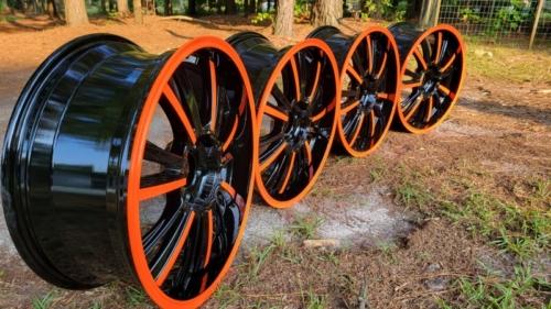 Gloss-Black-and-Orange-Wheels