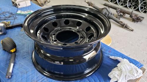 Gloss Black wheel