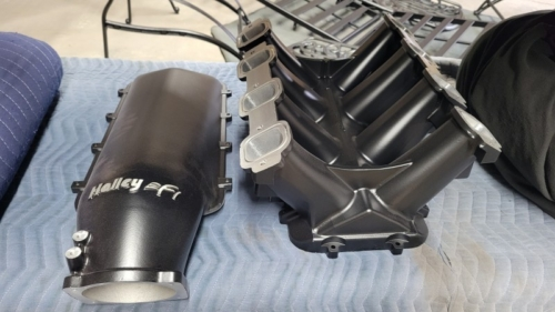 Holley Intake and Plentum