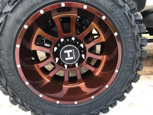 Hostile Wheel in Copper 2