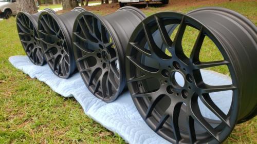 M3 Wheels - Matte Black (1)