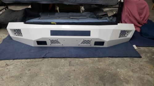 Polar White Aftermarket Bumper
