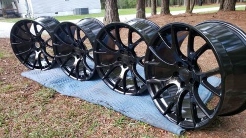 SRT HellCat Wheels