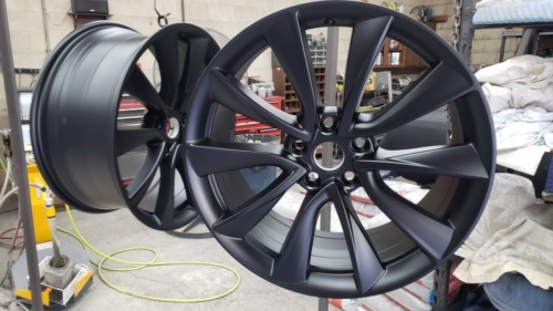 Tesla Wheels - Satin Black (2)