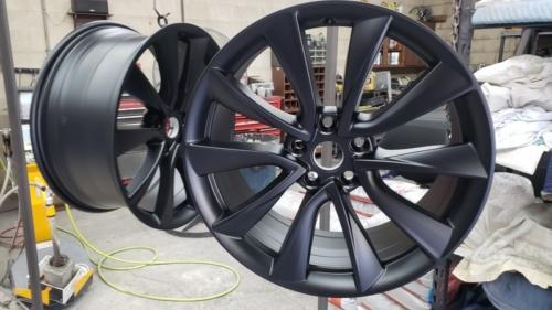 Tesla Wheels - Satin Black (2)