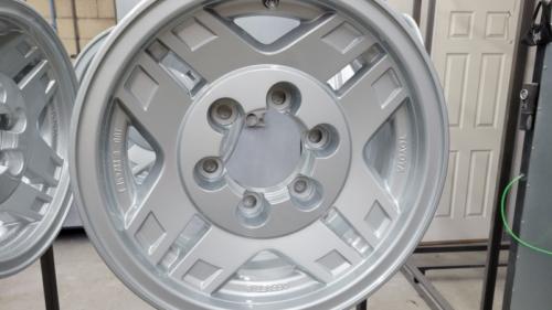 Toyota Wheels - Porsche Silver