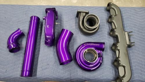 Truck Eng Parts - Illusion Purple