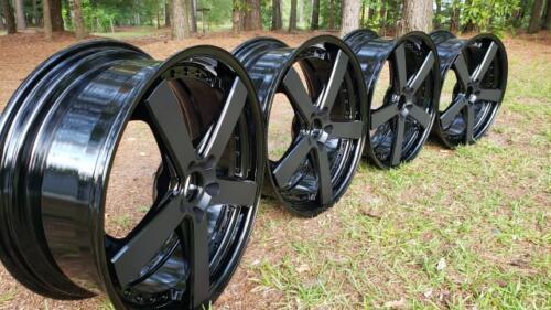 Two Tone Wheels - Gloss Black and Matte Black