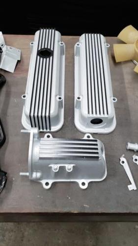 Valve Covers and Plenum