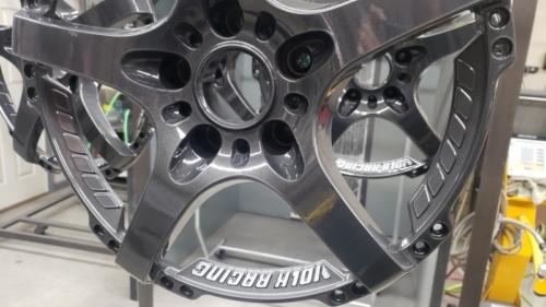 Volk Wheels - Wet Charcoal