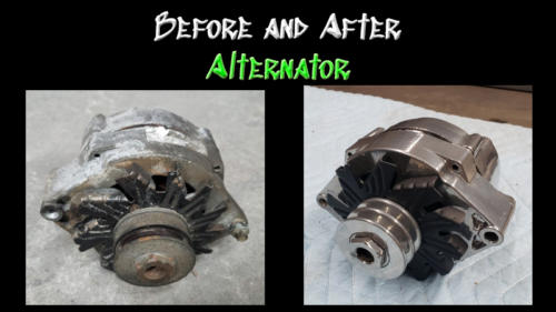Before and After Alternator 01