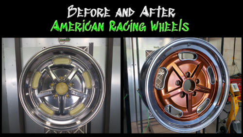 Before and After American Racing Wheels