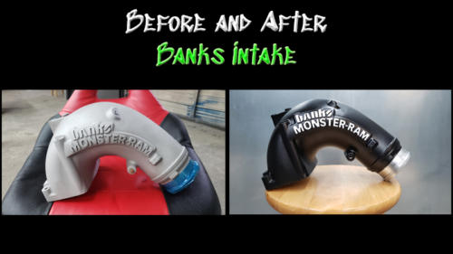 Before and After Banks Intake