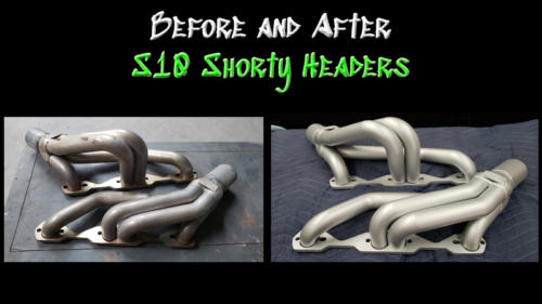 Before and After S10 Headers