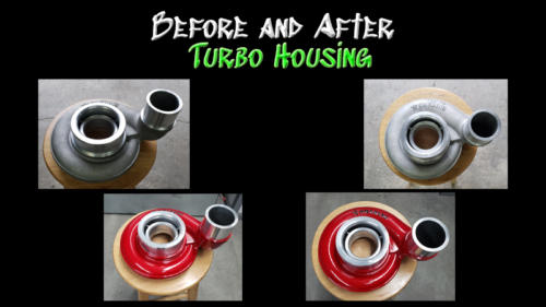 Before and After Turbo Housing 01