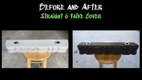 Before and After Valve Cover
