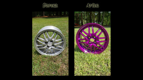 Before and After Wheel