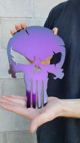 Faded Skull