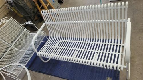 Patio Chair - Super Mirror White