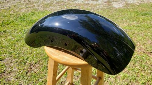 Harley rear fender 01