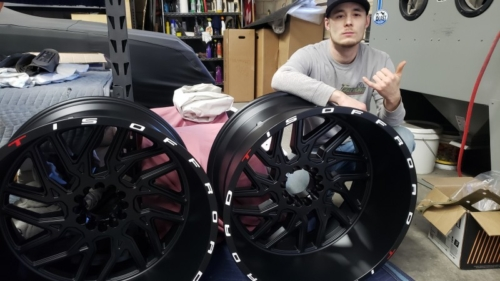 Justin with 24s